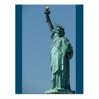 New York, Freiheitsstatue - Postkarte