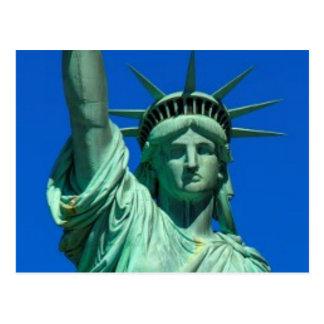 New York, Freiheitsstatue Postkarte