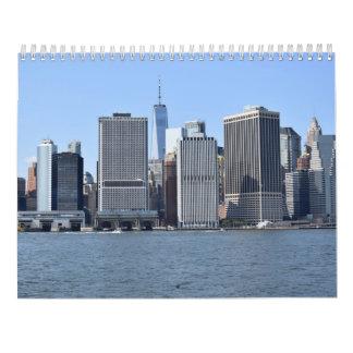 New York für die Einheimischen, vom Hafen-Kalender Wandkalender