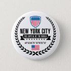 New York Runder Button 5,7 Cm