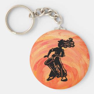 New- YorkBoogie-Nachttrommel-Orange Schlüsselanhänger