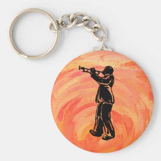 New- YorkBoogie-Nachttrompete-Orange Schlüsselanhänger