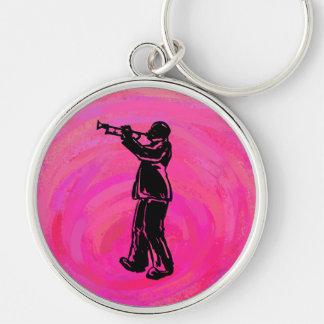 New- YorkBoogie-Nachttrompete-Pink Schlüsselanhänger