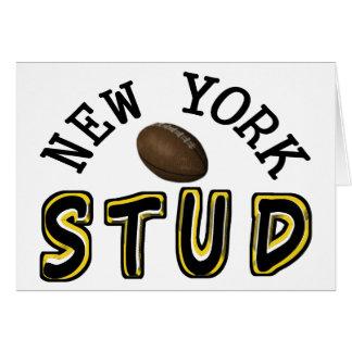 New- Yorkfußball-Bolzen Karte