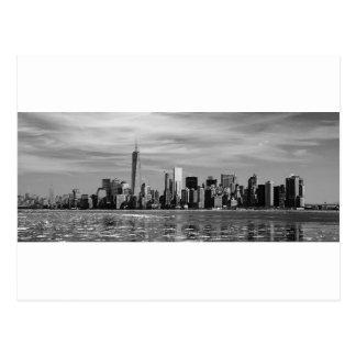 New- YorkSilhouette Postkarte