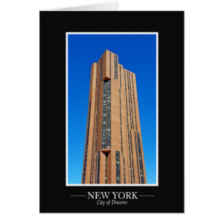 New- YorkSkyline-Fotografie-Rahmen personifizieren Karte