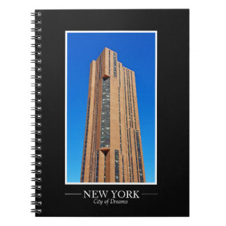 New- YorkSkyline-Fotografie-Rahmen personifizieren Notizblock