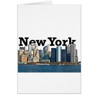 New- YorkSkyline Karte