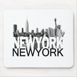 New- YorkSkyline Mousepad