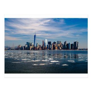 New- YorkSkyline-New- York Citystadt Manhattan Postkarte