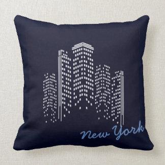 New- YorkSkyline-Polyester-Kissen Kissen