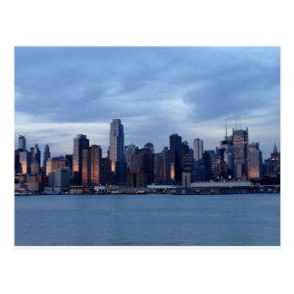New- YorkSkyline-Postkarte Postkarte