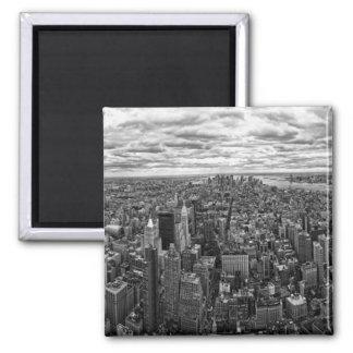 New- YorkSkyline Quadratischer Magnet