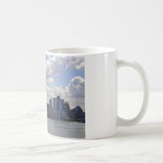 New- YorkSkyline und -boot Kaffeetasse
