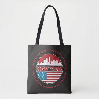 New- YorkSkyline | Vereinigte Staaten kennzeichnen Tasche