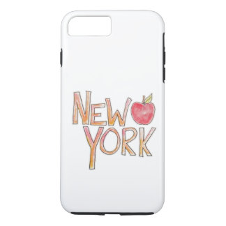 New- Yorktelefonkasten iPhone 7 Plus Hülle
