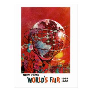 New- YorkWeltausstellung-Postkarte 1964 Postkarte