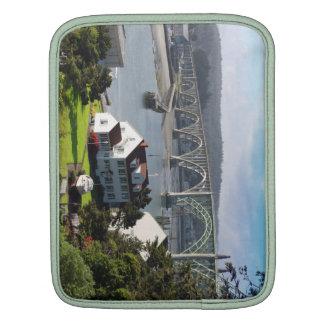 Newport Bayfront, Oregon-Küste iPad Hülse iPad Sleeve