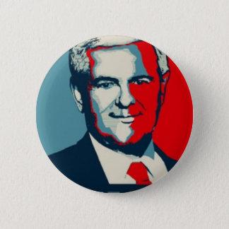 Newt Gingrich 2012 Runder Button 5,1 Cm