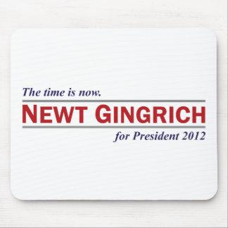 Newt Gingrich die Zeit ist jetzt Präsident 2012 Mousepad
