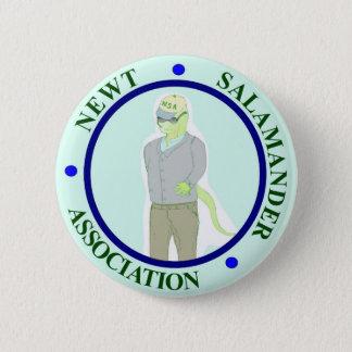 Newtsalamander-Vereinigung Runder Button 5,1 Cm