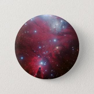 NGC 2264 und die Weihnachtsbaumgruppe Runder Button 5,1 Cm