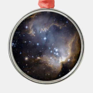 NGC 602 die helle Sterne NASA Silbernes Ornament
