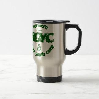 NGYC grünes Logo Reisebecher