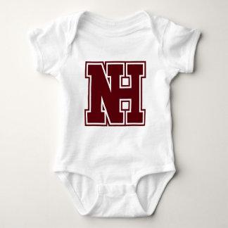 NH-Logo-Kontur Baby Strampler