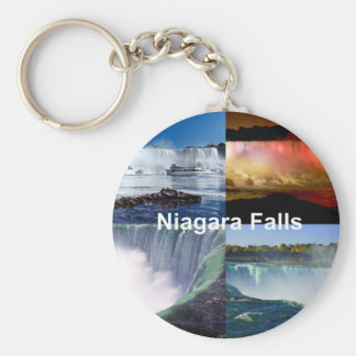 Niagara Falls New York Standard Runder Schlüsselanhänger