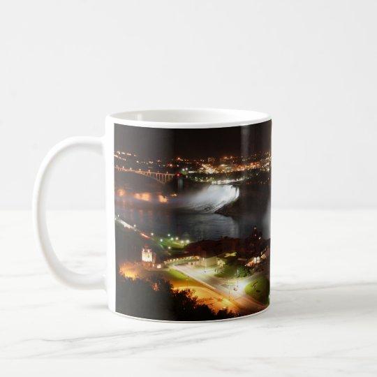 Niagara- Fallsnachtlichter Kaffeetasse