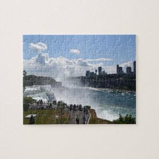 Niagara- Fallspuzzlespiel