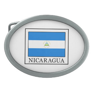 Nicaragua Ovale Gürtelschnallen
