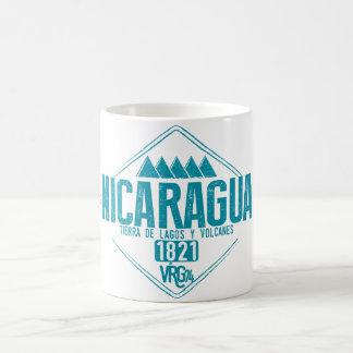 Nicaragua zerteilt tasse