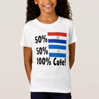 Nicaraguaner 100% 50% Paraguayer-50% niedlich T-Shirt