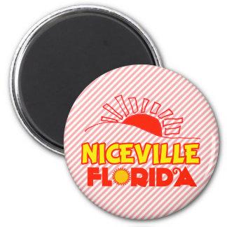 Niceville, Florida Runder Magnet 5,1 Cm