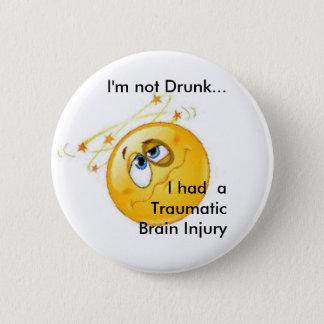 Nicht betrunkener TBI Knopf Runder Button 5,7 Cm
