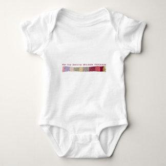 Nicht das offizielle Waldorf Handbuch-Schal-Logo Baby Strampler