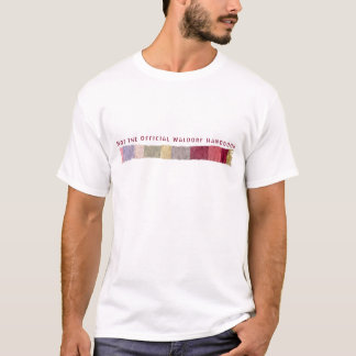 Nicht das offizielle Waldorf Handbuch-Schal-Logo T-Shirt