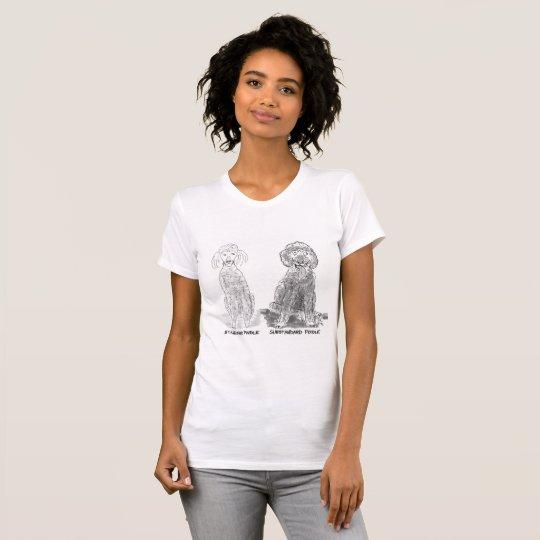 Nicht der Norm entsprechender Pudel T-Shirt