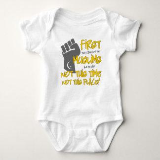 Nicht dieser Platz-Baby-Bodysuit Baby Strampler