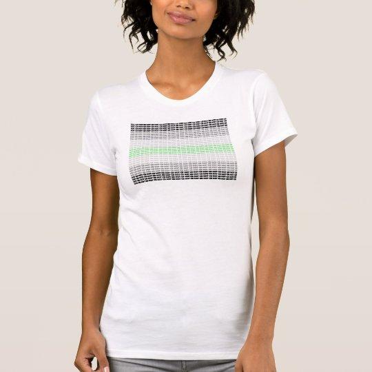 """""""Nicht diesseits"""" Agender Flagge T-Shirt"""