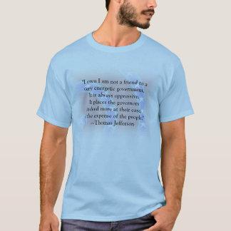 Nicht ein Freund zu einer sehr Energieregierung T-Shirt