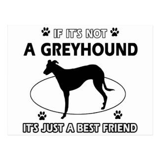 Nicht ein grauer Jagdhund Postkarte