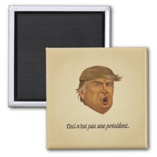 Nicht ein Präsident Magnet
