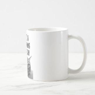Nicht eine Morgen-Tassenpersonen-Tasse Kaffeetasse