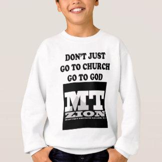 Nicht einfach gehen Sie Sweatshirt