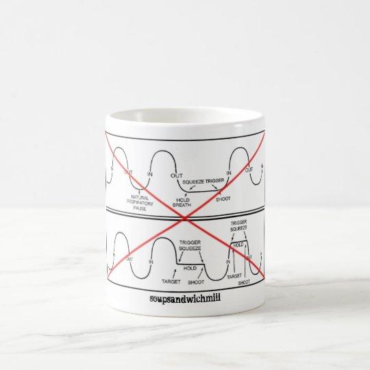 Nicht Ihre Atmung Kaffeetasse