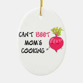 Nicht kann das Kochen ROTE RÜBE Mammas Keramik Ornament