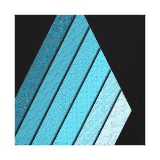 Nicht-Konzentrischer Dreieck-Leinwand-Druck Leinwanddruck
